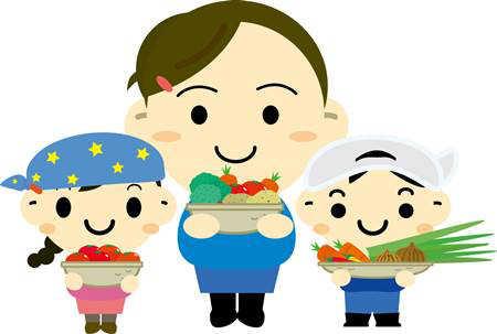 生野菜を食べよう